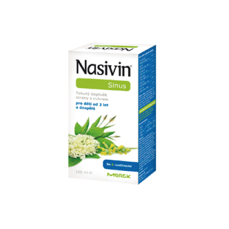 Nasivin Sinus sirup 95 ml