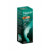 Nasivin Soft 0,025% sprej pre deti 10 ml