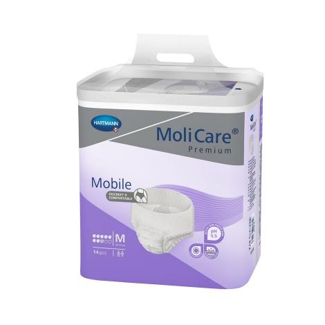 MoliCare Premium Mobile 8 kvapiek M plienkové nohavičky naťahovacie 14 ks