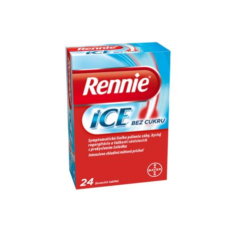 Rennie Ice bez cukru 24 tbl