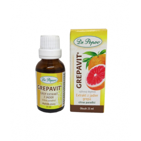 DR.POPOV Grepavit kvapky 25 ml