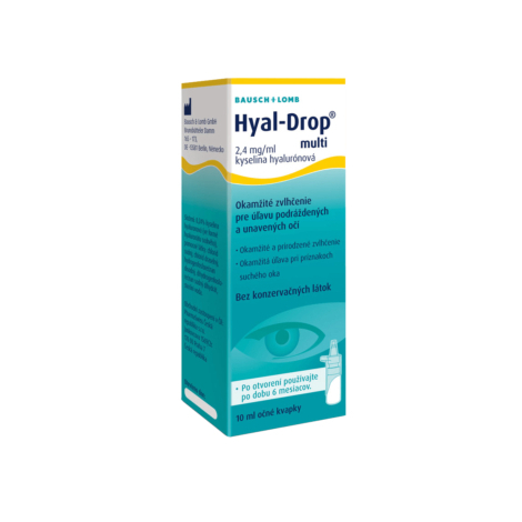 Hyal-Drop multi očné kvapky 10 ml