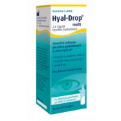 Hyal-Drop multi očné kvapky 2x10 ml