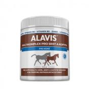 ALAVIS Multikomplex pre srsť a kopytá prášok pre kone 400 g