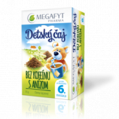 MEGAFYT Detský čaj Bez kofeínu S ANÍZOM,čierny čaj, 20x1,75 g (35 g)