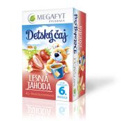 MEGAFYT Detský čaj LESNÁ JAHODA, ovocný čaj, 20x2 g (40 g)