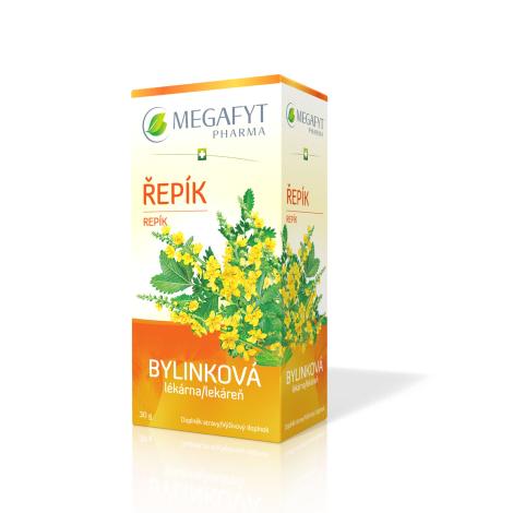 MEGAFYT Bylinková lekáreň Repík porciovaný čaj 20x1,5g