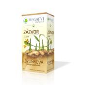 MEGAFYT Bylinková lekáreň Zázvor porciovaný čaj 20x1,5g