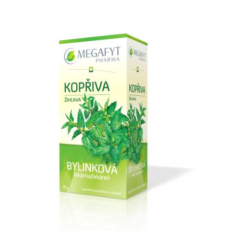 MEGAFYT Bylinková lekáreň Žihľava porciovaný čaj 20x1,5g