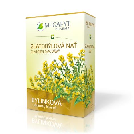 MEGAFYT Zlatobyľová vňať sypaný čaj 50g