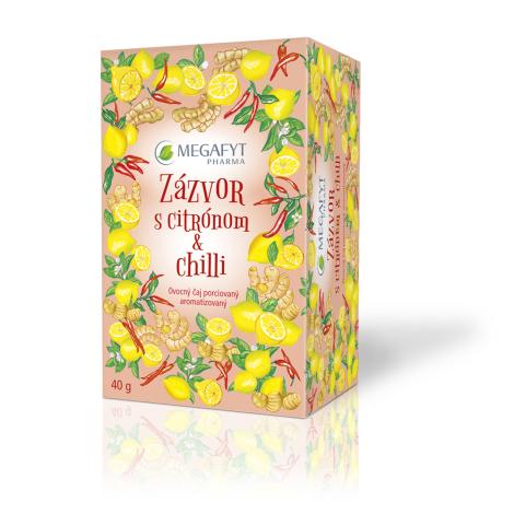 Megafyt Zázvor s citrónom a chilli 20X2G