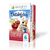 MEGAFYT Detský čaj ČEREŠŇA, ovocný čaj, 20x2 g (40 g)