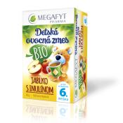 MEGAFYT Detská ovocná zmes BIO JABLKO S INULÍNOM 20x2 g (40 g)