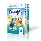 MEGAFYT Detský čaj BEZ KOFEÍNU čierny čaj 20x1,75 g (35 g)