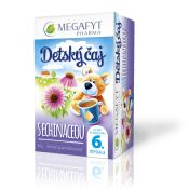 MEGAFYT Detský čaj S ECHINACEOU ovocno-bylinný čaj, 20x2 g (40 g)