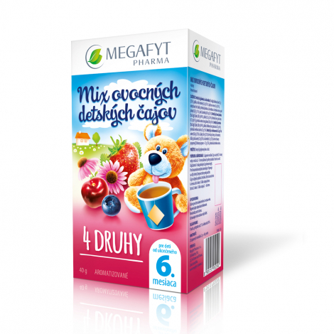 Megafyt Mix detských čajov