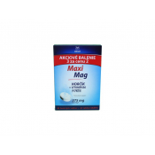 MaxiMag Hořčík 375 mg + B6 šumivé tablety 3 ks
