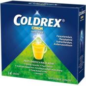 Coldrex Horúci nápoj citrón 14 vrecúšok