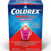 Coldrex MaxGrip lesné ovocie 10 vrecúšok