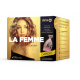 Delta La Femme Beauty Collagen 5 500 mg prášok s príchuťou broskyňa 196g s make-up štetcom