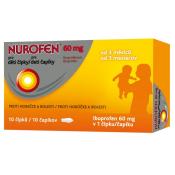 Nurofen pre deti čapíky 60 mg 10 čapíkov
