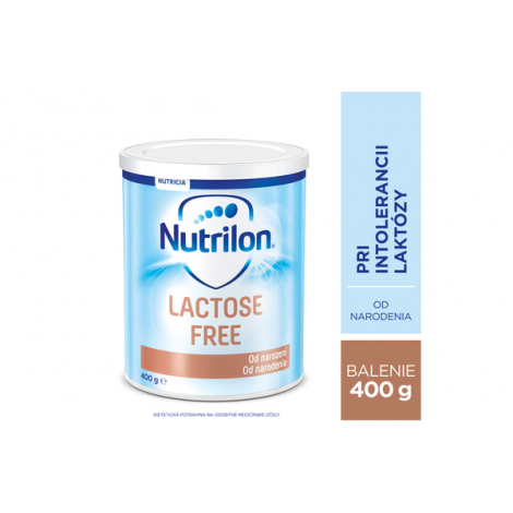 Nutrilon Lactose Free od narodenia 400 g