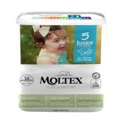 Moltex detské prírodné plienky Junior 11-25 kg 26 ks