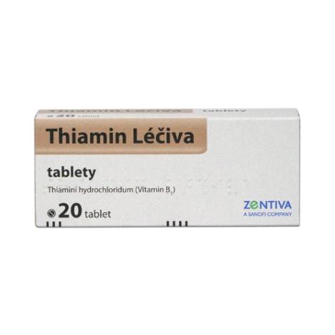Thiamin Léčiva 20 tbl