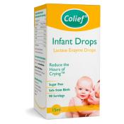 Colief Infant Drops Lactase Enzyme kvapky do mlieka 15 ml
