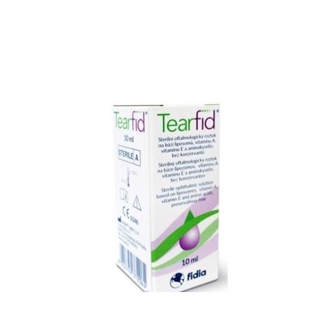 Tearfid očné kvapky 10 ml