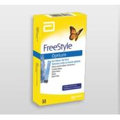 Freestyle Optium testovacie prúžky do glukomera