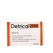 Detrical 2000 tbl vitamín D 60 ks