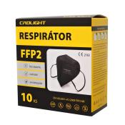 Respirátor ochranný  FFP2 1ks čierny