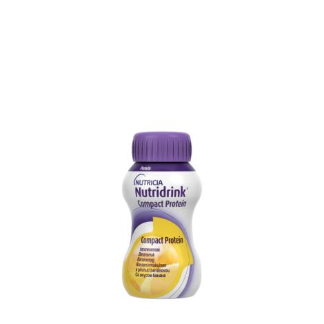 NUTRIDRINK COMPACT PROTEIN s banánovou príchuťou 24x125 ml