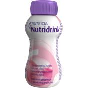 Nutridrink s jahodovou príchuťou 4 x 200 ml