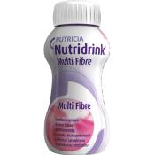 Nutridrnk Multi Fibre s jahodovou príchuťou