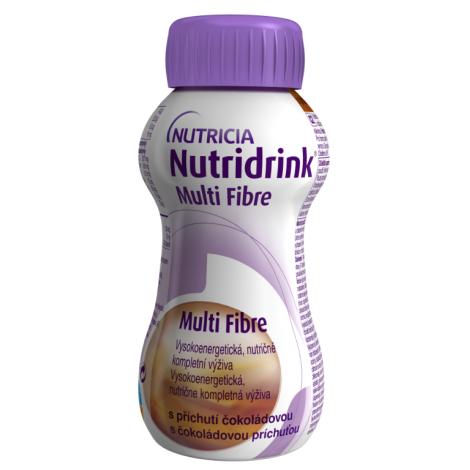 Nutridrink Multi Fibre s čokoládovou príchuťou