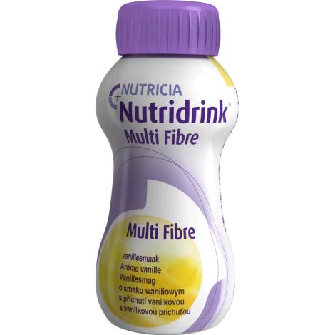 Nutridrink Multi Fibre s vanilkovou príchuťou