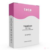 TOTO Tiamín B1 50 mg s postupným uvoľňovaním 30 cps