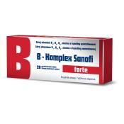 B-komplex forte Sanofi 20 tbl