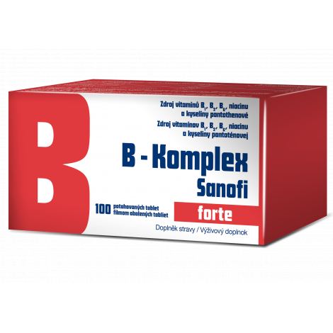B-komplex forte Sanofi 100 tbl flm