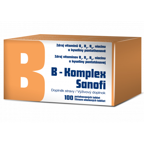 B-komplex Sanofi 100 tbl flm