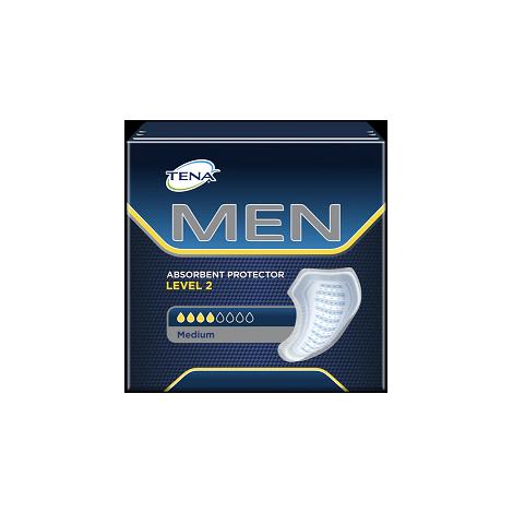 TENA Men Level 2 absorpčné vložky pre mužov 10 ks