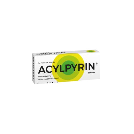 ACYLPYRIN 10 tbl