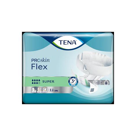 TENA Flex Super Medium absorpčné nohavičky s rýchloupínacím pásom 30 ks