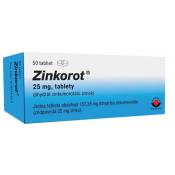 Zinkorot 25 mg 50 tbl