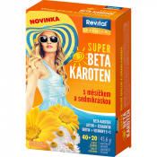 Revital Premium Super Beta-karotén s nechtíkom a sedmokráskou 40+20 tbl