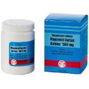 Galvex Magnéziové tablety 500 mg 50 tbl