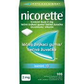 Nicorette IceMint gum 2 mg žuvačky 105ks