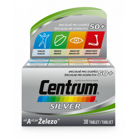 Centrum Silver 50+ 30 tbl